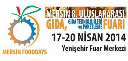 Mersin Uluslararası Gıda, Gıda Teknolojileri ve Paketleme Fuarı