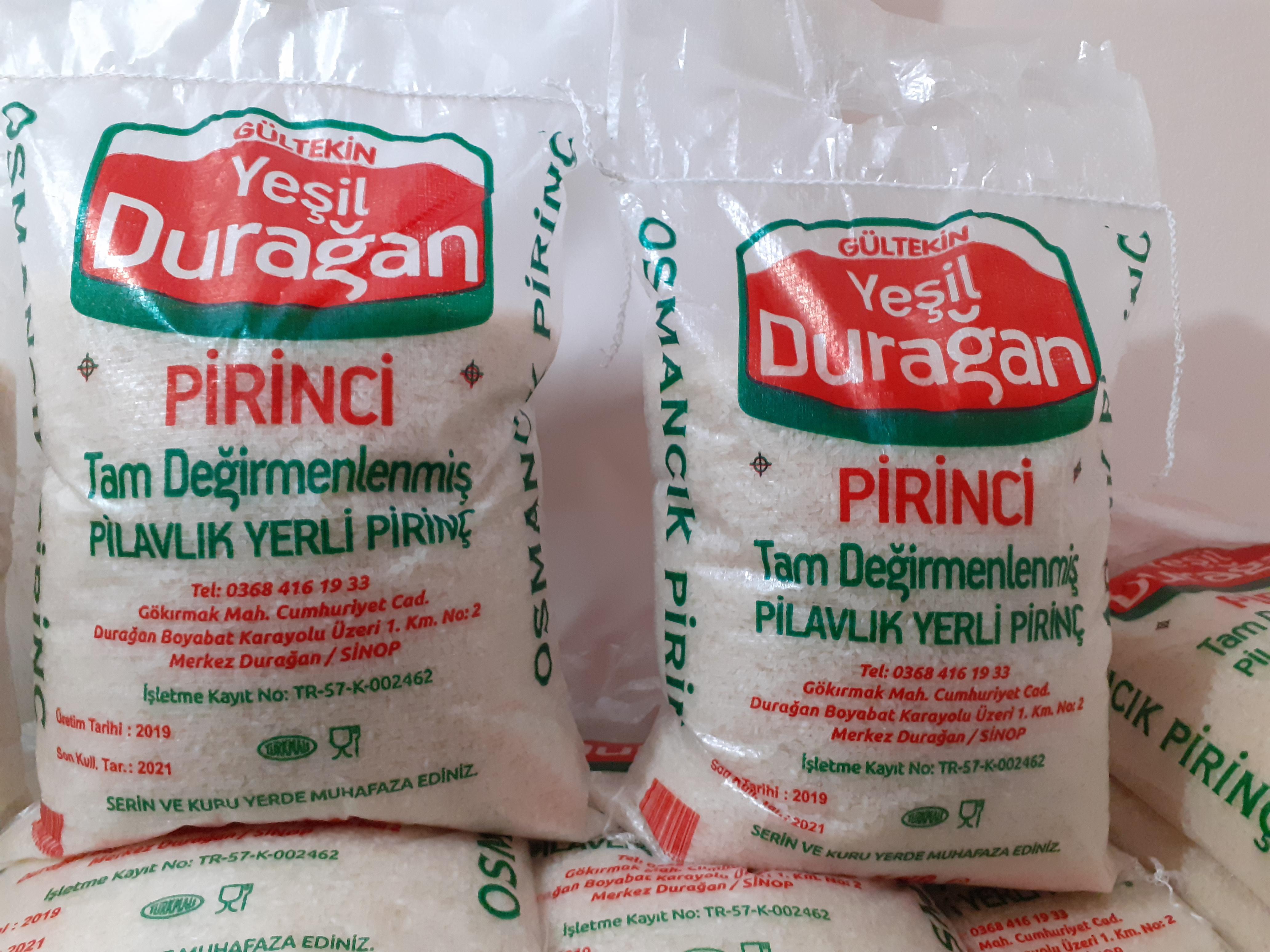 Pirinç - Üretici Sinop Yöresel Ürünleri 7 tl fiyat ile 2 kilogram pirinç  satmak istiyor