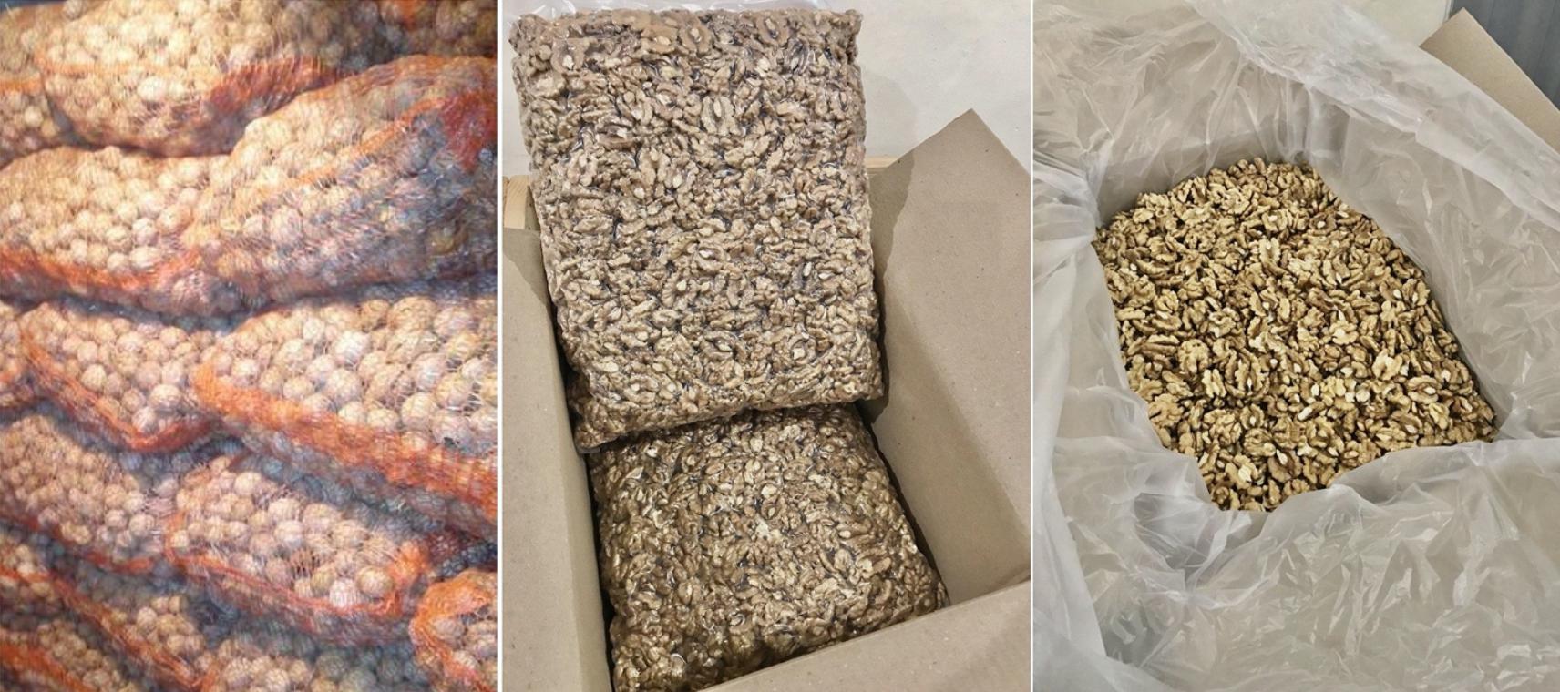 Ceviz İçi - Üretici Osman Eldarov 1 tl fiyat ile 1 kilogram ceviz içi  satmak istiyor